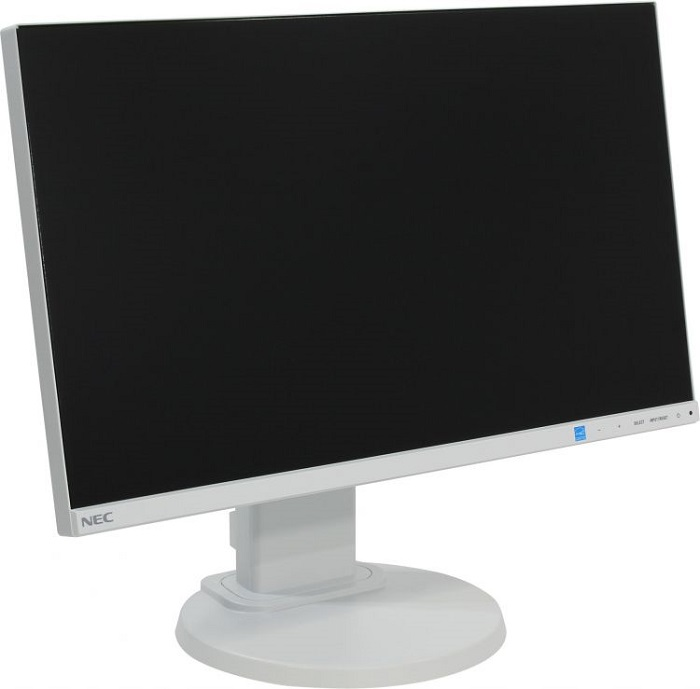 NEC 22'' E221N LCD S/Wh (IPS; 16:9; 250cd/m2; 1000:1; 6ms, 1920x1080,178/178; VGA; HDMI; DP; HAS 110mm; Swiv; Tilt; Spk 2x1W)