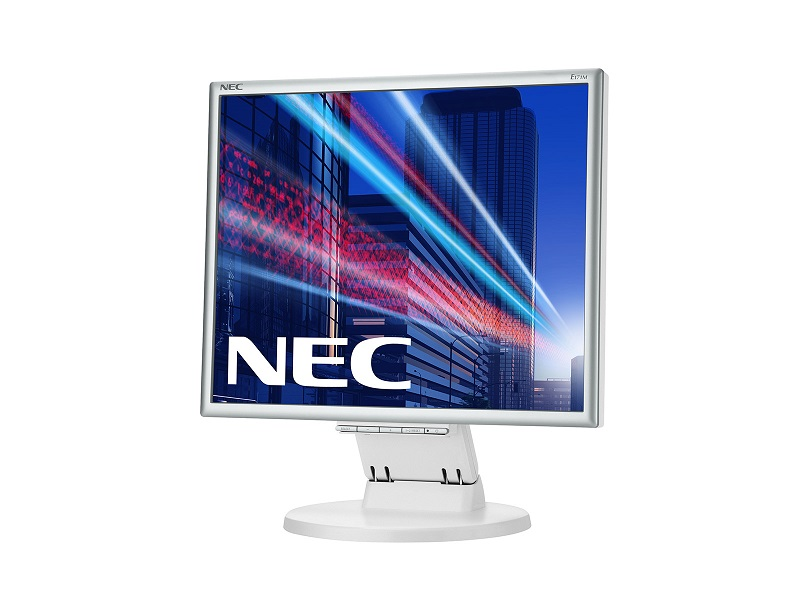 "NEC 17"" 171M LCD S/Wh ( TN; 5:4; 250cd/m2; 1000:1; 5ms; 1280x1024; 170/170; D-Sub; DVI-D; HAS 50 mm; Tilt; Spk 2*1W)"