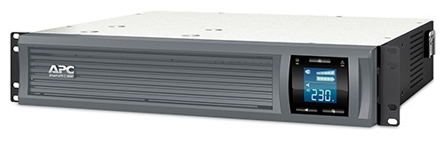 APC Smart-UPS C 3000VA/2100W 2U RackMount, 230V, Line-Interactive, Out: 220-240V 8xC13/1xC19, LCD, Gray, 1 year warranty, No CD/cables