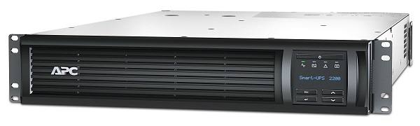 APC Smart-UPS 2200VA/1980W, RM 2U, Line-Interactive, LCD, Out: 220-240V 8xC13 (4-Switched) 1xC19, EPO, Pre-Inst. Network Card