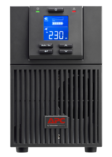 APC Smart-UPS SRC, 2000VA/1600W, On-Line, Tower, LCD, USB, SmartSlot, PowerChute, Black