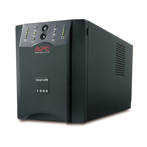 Smart-UPS 1000VA/800W, 230V, Extended Runtime, Line-Interactive, user repl. batt., SmartSlot, USB,  PowerChute, BLACK