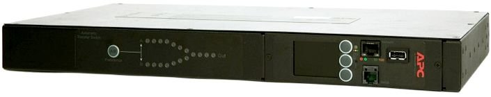 APC Rack ATS, 230V, 16A, (2) IEC 309 in, (1) IEC 309 out