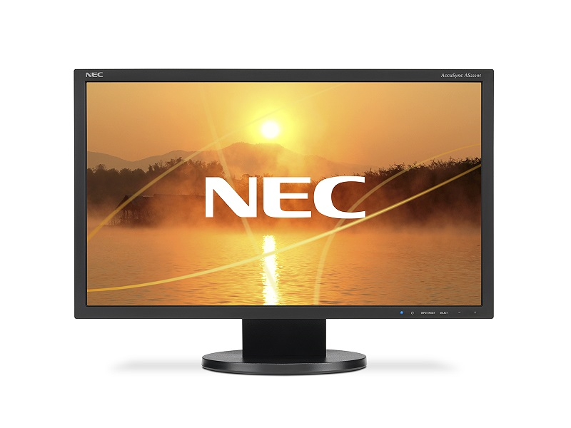 "NEC 22"" AS222Wi LCD Bk/Bk (AH-IPS; 16:9; 200cd/m2; 1000:1; 5ms; 1920x1080; 170/160; VGA; DVI-D; Tilt)"