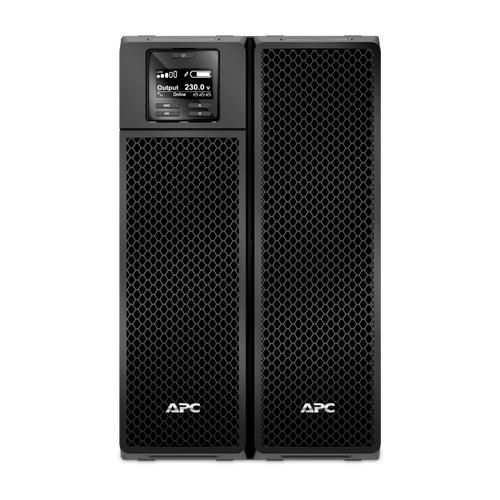 APC Smart-UPS SRT, 8000VA/8000W, On-Line, Extended-run, Black, Tower (Rack 6U convertible), Pre-Inst. Web/SNMP, with PC Business