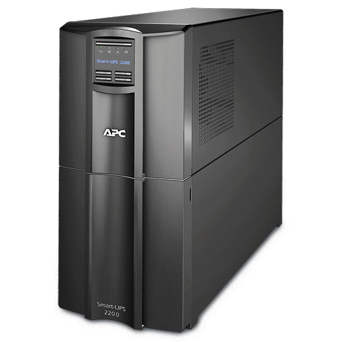APC Smart-UPS 2200VA/1980W, Line-Interactive, LCD, Out: 220-240V 8xC13 (4-Switched) 1xC19, SmartSlot, EPO, HS User Replaceable Bat, Black, 3(2) y.war.(REP: SUA2200I)