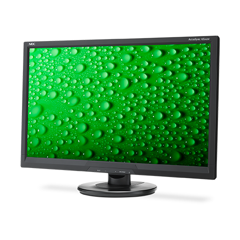"NEC 24"" AS242W LCD Bk/Bk( TN; 16:9; 250cd/m2; 1000:1; 5ms; 1920x1080; 170/160; D-Sub; DVI-D)"