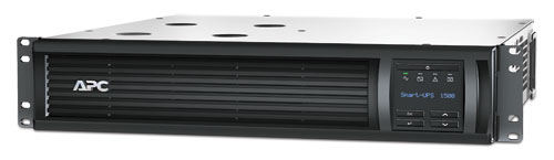 APC Smart-UPS 1500VA/1000W, RM 2U, Line-Interactive, LCD, Out: 220-240V 4xC13 (2-Switched), SmartSlot, USB, Pre-Inst. Network Card