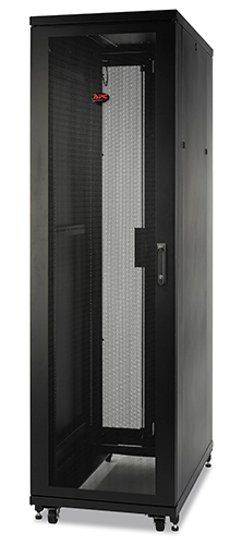NetShelter SV 42U 600mm Wide x 1060mm Deep Enclosure with Sides Black